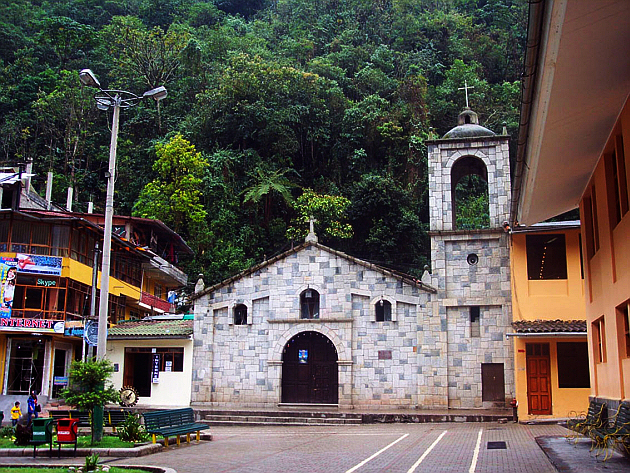 Aguas Calientes: New Buildings With Old Looks