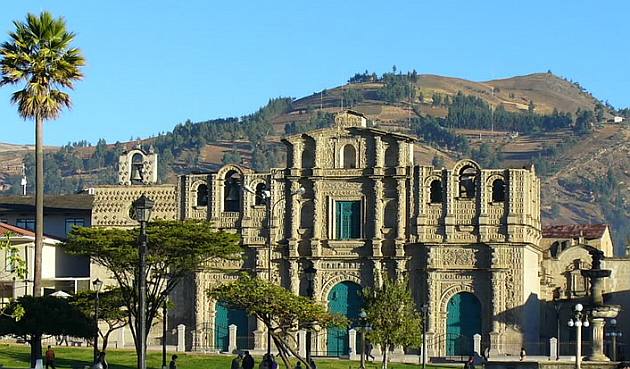 Cajamarca, the Cathedral