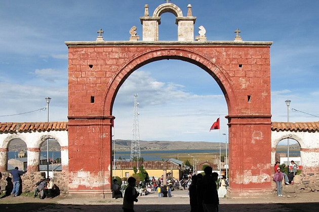 Red Arch in Chucuito