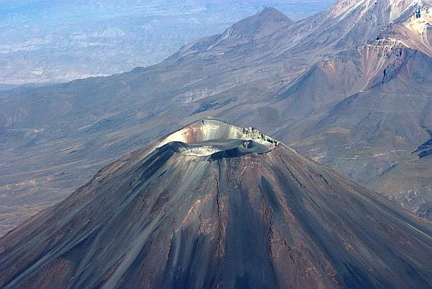 The Gigantic El Misti Volcano
