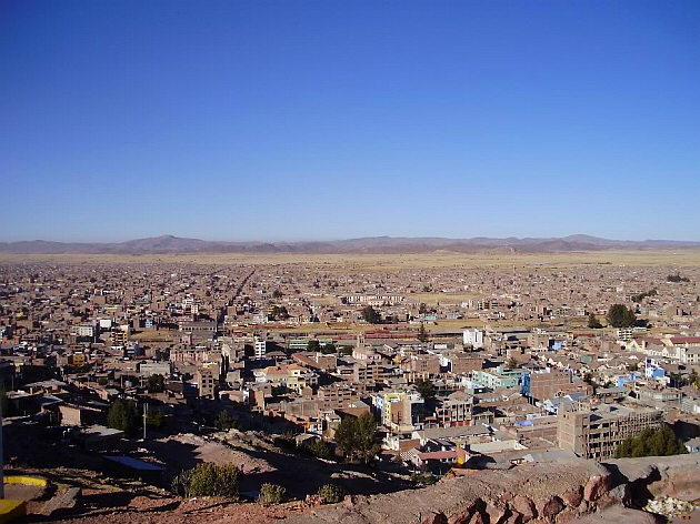 View of Juliaca