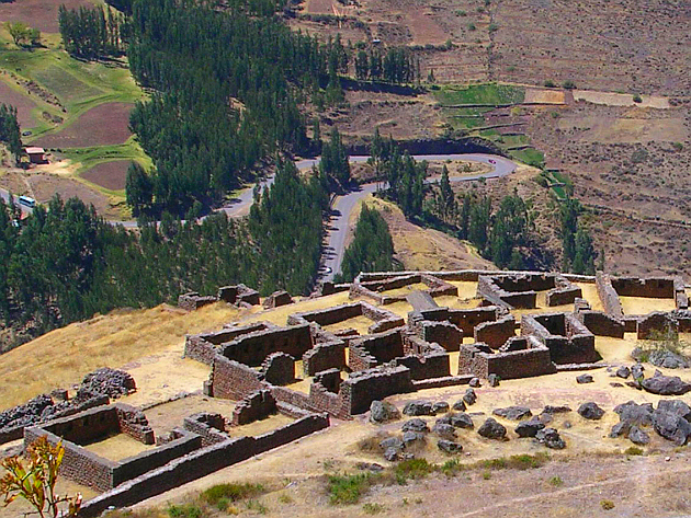 The Inca Ruins of P�sac